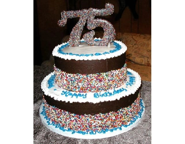 75th Birthday Cakes Ideas For Show Stopping Birthday Cakes