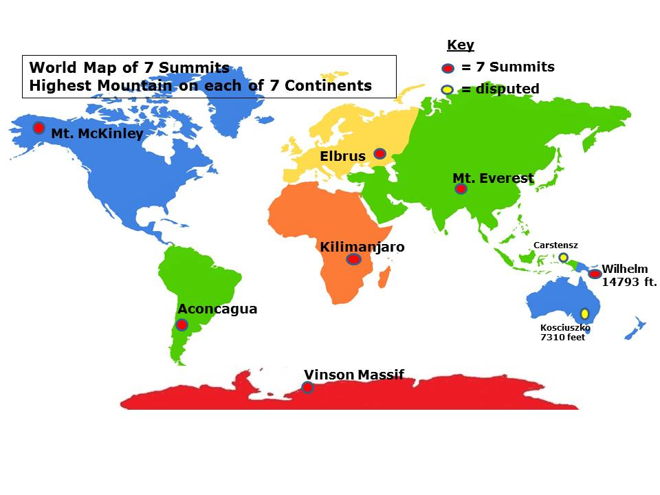 7 Continent Summits - Home