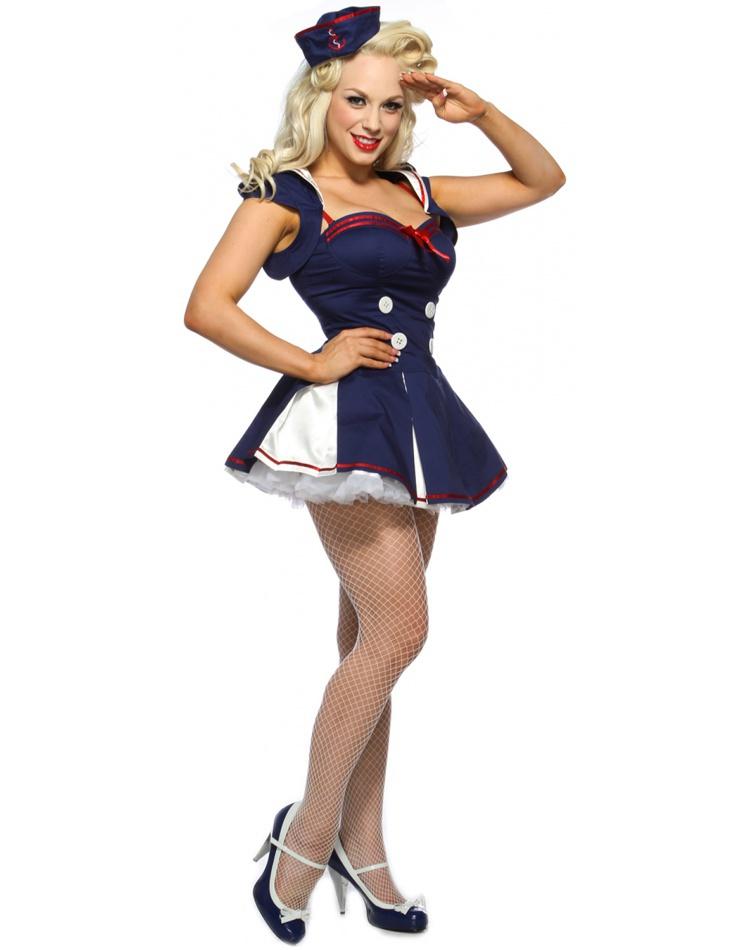 Star Spangled Sailor sailor pin-up girl costume