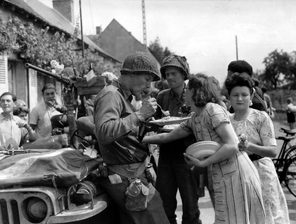 90th Idpg The M1 Helmet In Normandy A Case Study