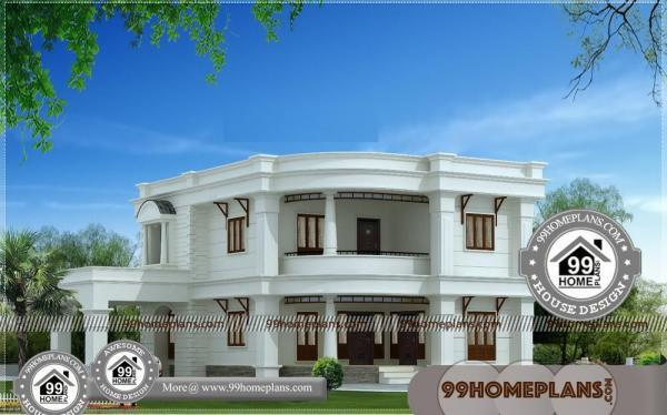 Small Double Storey House Plans with Low Cost House Plans   Designs
