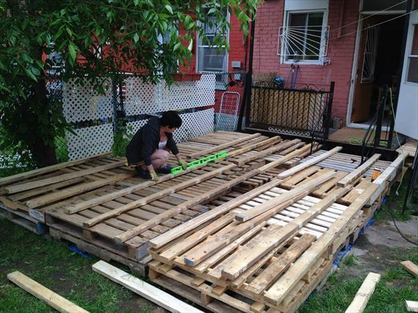 How Build Raised Garden Out Pallets