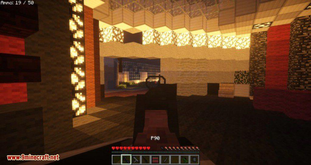 Realistic Minecraft Gun Mod