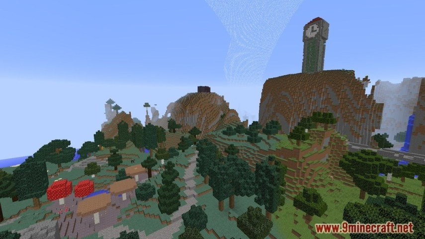 Hunger Games Map 1 12 2 1 11 2 for Minecraft   9Minecraft Net     Hunger Games Map Screenshots 3