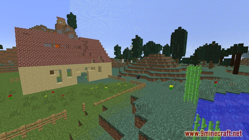 Hunger Games Map 1 12 2 1 11 2 for Minecraft   9Minecraft Net     Hunger Games Map Screenshots 5