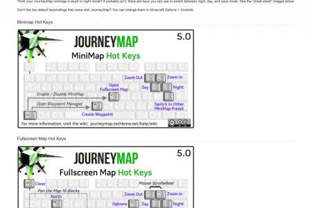 Minecraft Spielen Deutsch Journey Map Para Minecraft Bild - Journey map para minecraft 1 10 2
