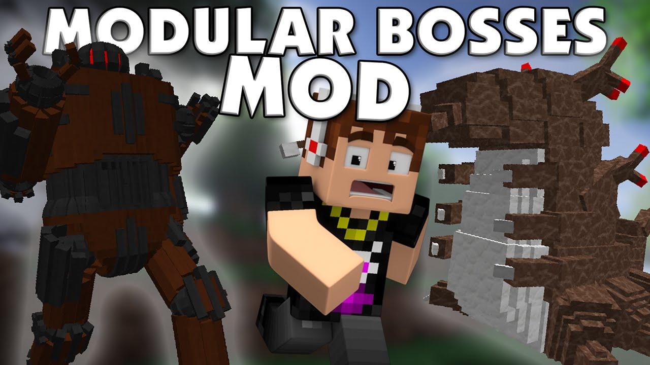 Bosses Minecraft 1710 More Mod