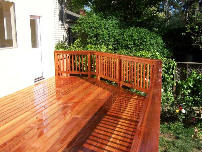 B Grade Redwood A 1 Construction Deck Fence Stairs