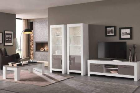 inrichting woonkamer grijs wit » Huis inrichten 2019 | Huis inrichten