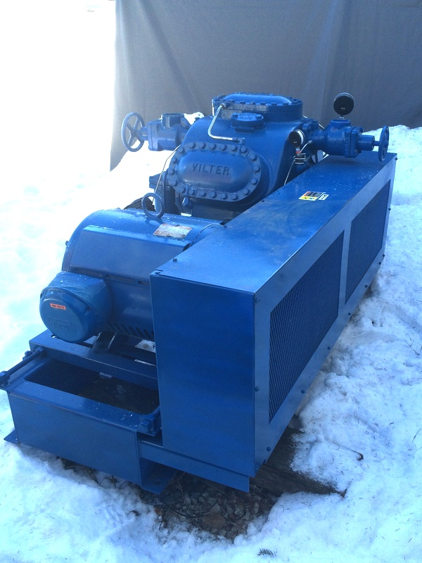 Vilter 446 Ammonia Compressor For Sale Arss