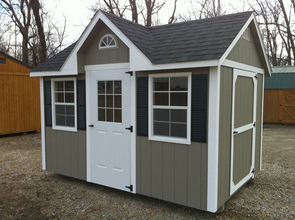 Small Garden Shed Plans