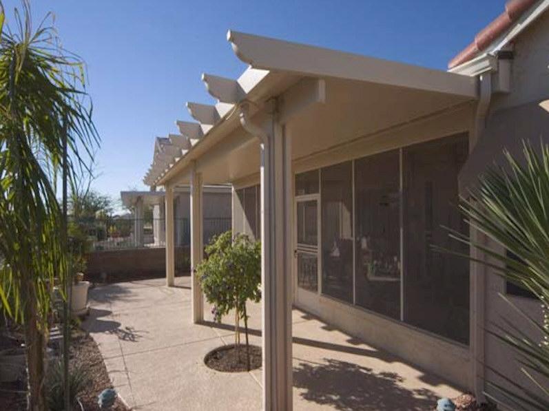 Alumawood Newport Solid Shade Structures Aaa Sun Control