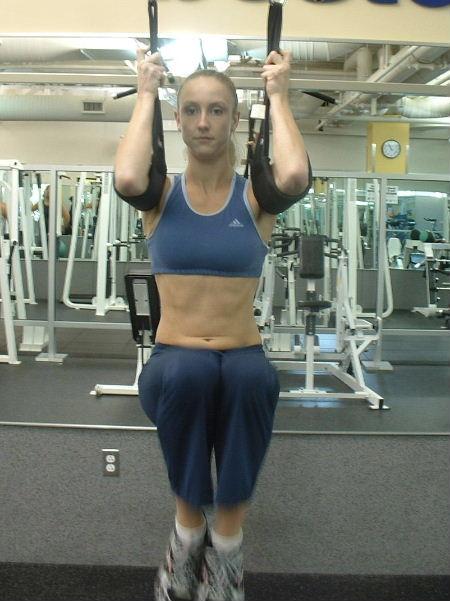 Hanging Ab Straps Abdominal Exercise Equipment