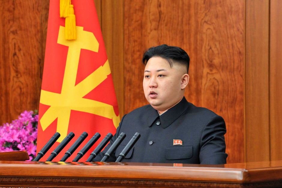 Kim Jong un makes New Year speech   ABC News  Australian     Kim Jong un makes New Year speech