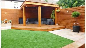 Garden Makeover With Garden Room Bootle Sefton Abel