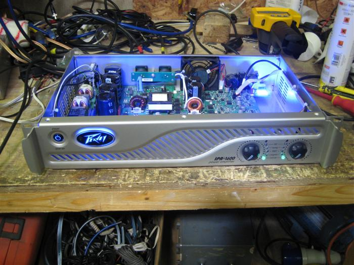 Peavey Ipr 1600 Amplifier Test Results Abeltronics