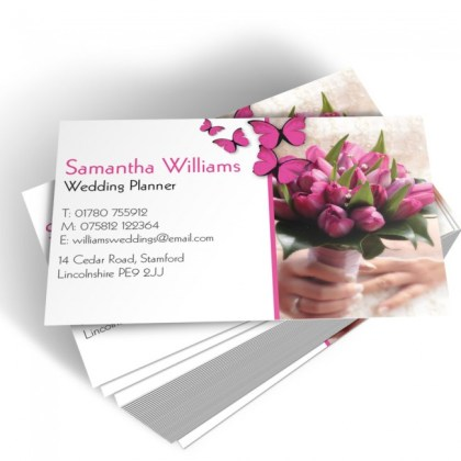 Template Business Cards   Able Labels Templated Business Card Wedding Planner 2
