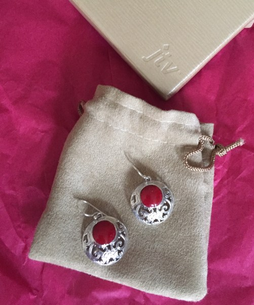 Celebrate Valentine s Day With This Gem tastic Giveaway   A Boomers     JTV  Galentine s Day  Valentine s Day  jewelry  gems  coral  earrings
