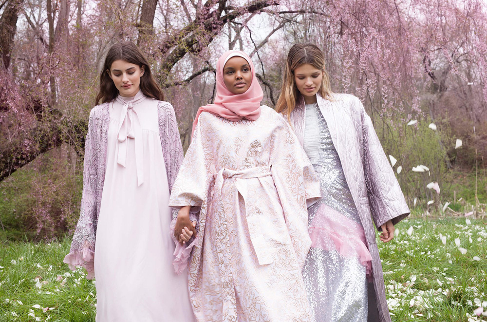 Modest Fashion Week Comes to Dubai   About Her Also partaking in this year s event will hijab wearing supermodels  Halima  Aden     signed to IMG and stormed the runway for Kanye West  and Mariah  Idrissi