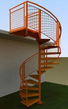 Outdoor Spiral Stairs Exterior Staircases In Ct Nyc Acadia   Outdoor Wooden Spiral Staircase   Kid Friendly   Residential   Circular   Beautiful   Rooftop Deck