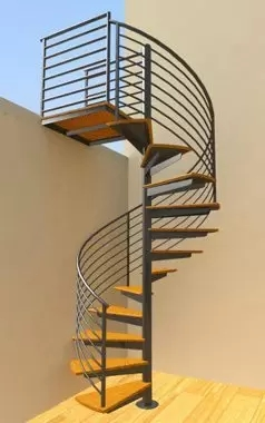 Custom Spiral Stairs Spiral Staircase Design In Ct Nyc | Round Stairs Railing Design | Metal | Silver | Loft | Stainless Steel | Brown