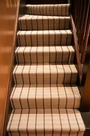 How To Carpet Your Stair Treads Acadia Stairs | Spiral Staircase Carpet Treads | Replacement | Carpeting | Semi Circle | Interior | Double Winder Staircase