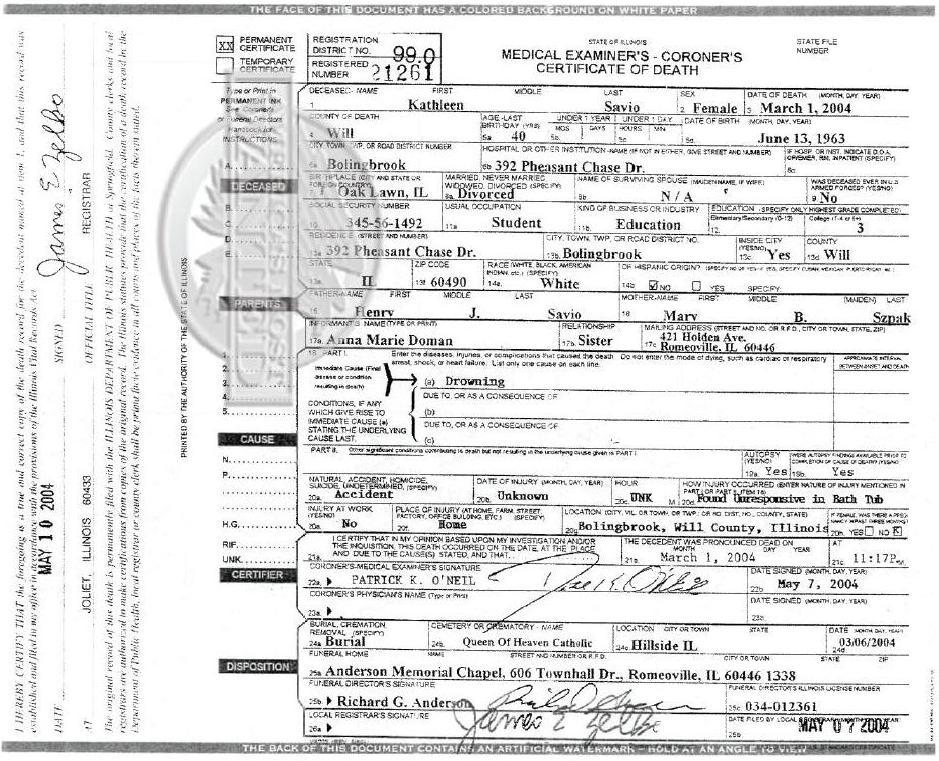 James Wood Chevrolet >> Autopsy Photos Laci Peterson Trial