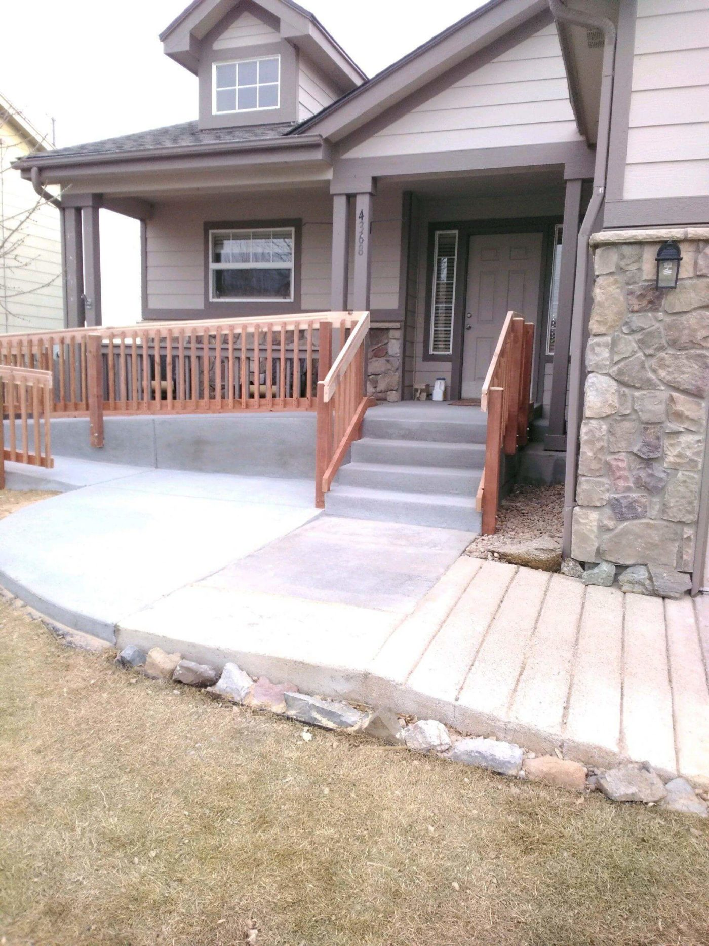Concrete Ramp In Salt Lake City Utah Accessible Systems
