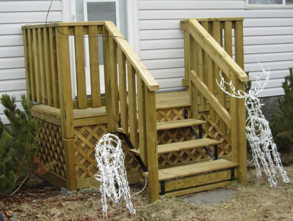 Screen Porch Railing Ideas
