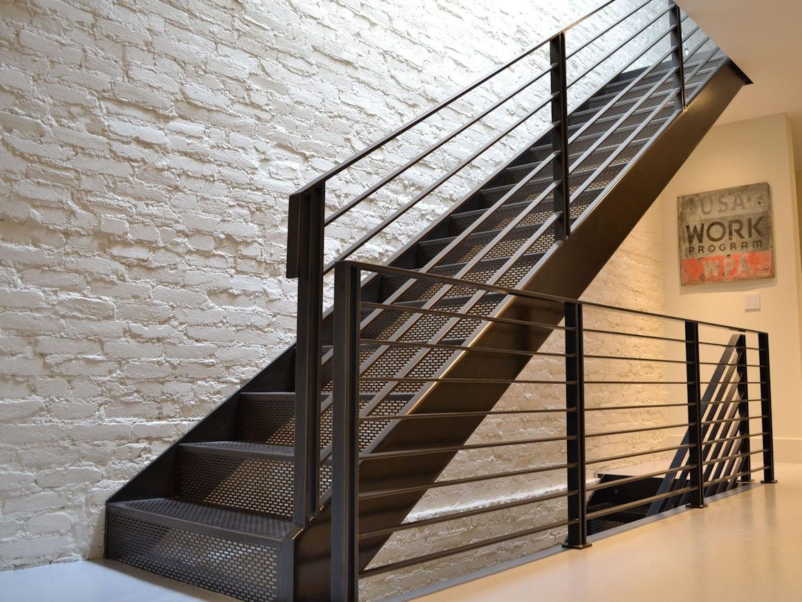 Perforated Metal Stairs Stair Treads Accurate Perforating Company | Decorative Outdoor Stair Treads | Stone | Interior | Non Slip | Modern Exterior Stair | Fancy