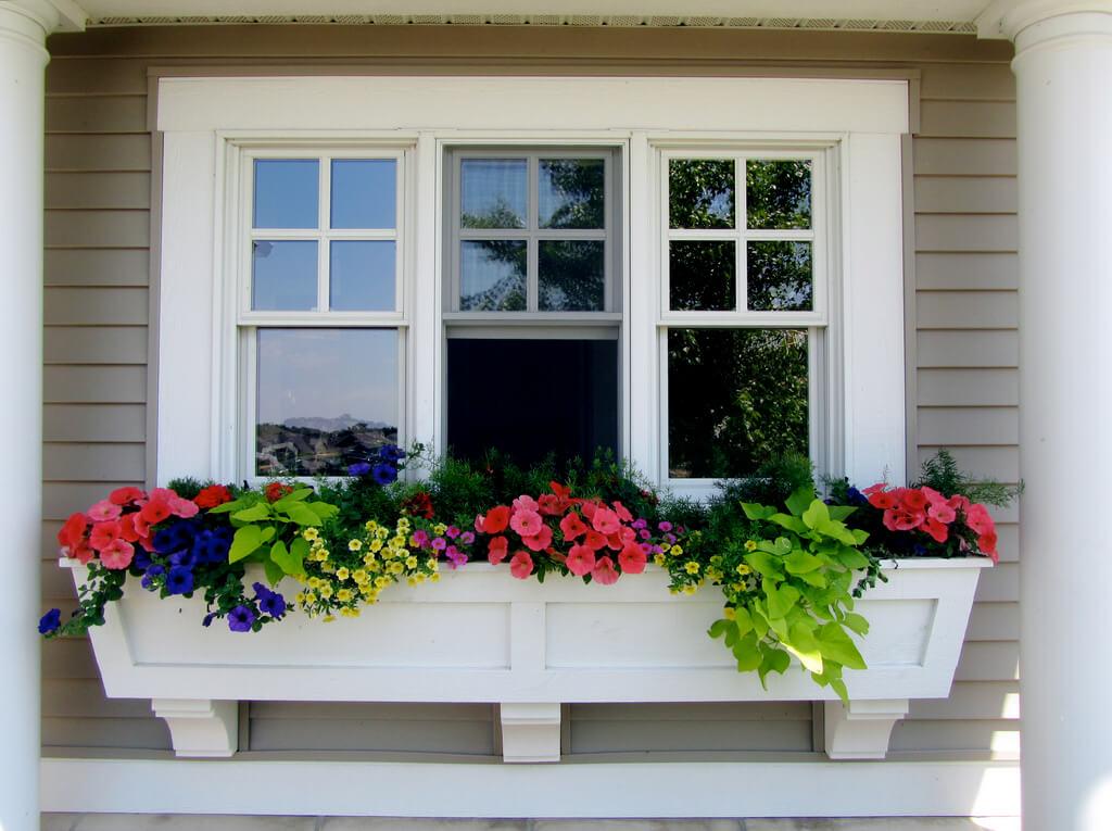 Under Window Planter Box