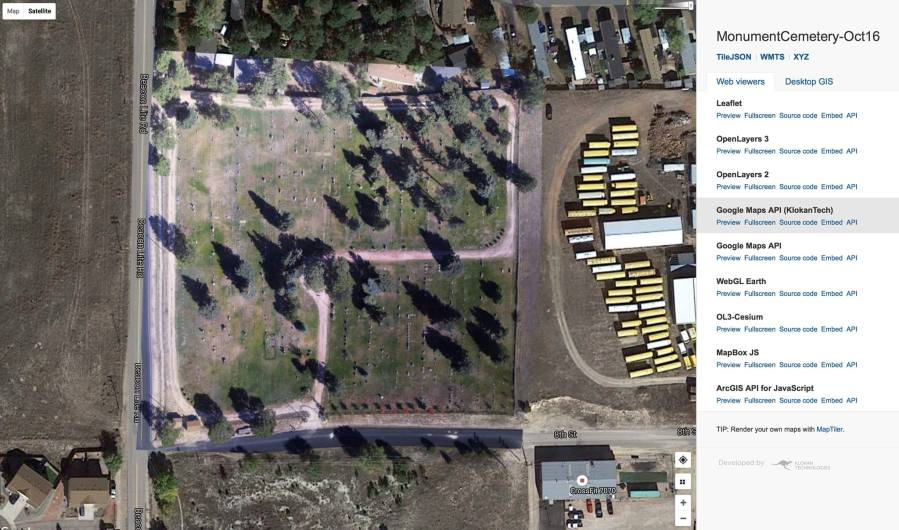 Monument Colorado Cemetery Aerial Map   Aces Aerial Monument Cemetery Ultra HD Aerial Map for Colorado Springs