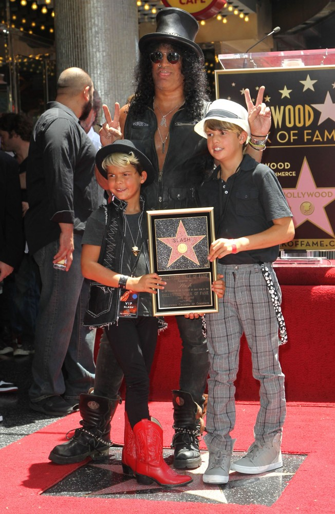 Slash Picture 55 Slash Honored With A Star On The