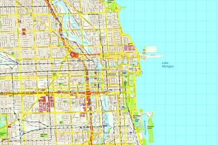 chicago city map usa » 4K Pictures | 4K Pictures [Full HQ Wallpaper]