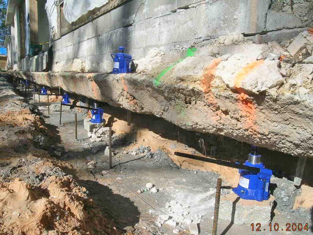 House Building Foundation Slab