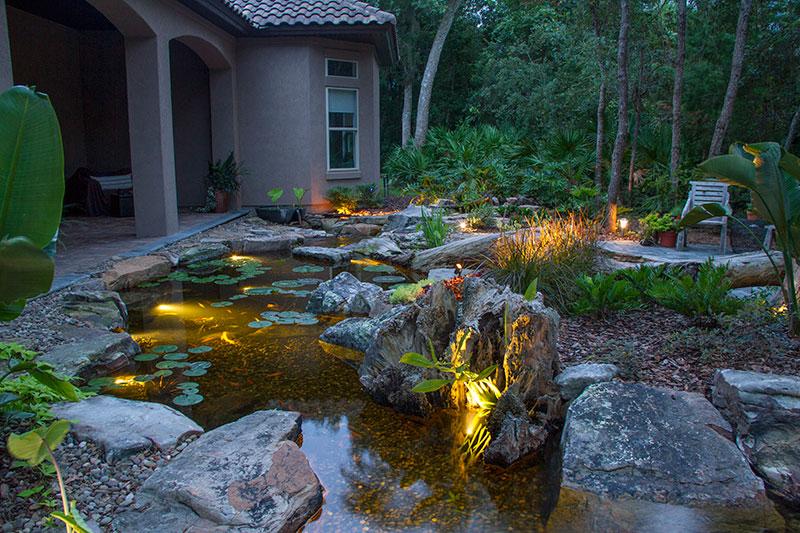 Small Koi Pond Design