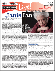 Janis Ian A Life in Song, A Triumph of the Will by Richard ...