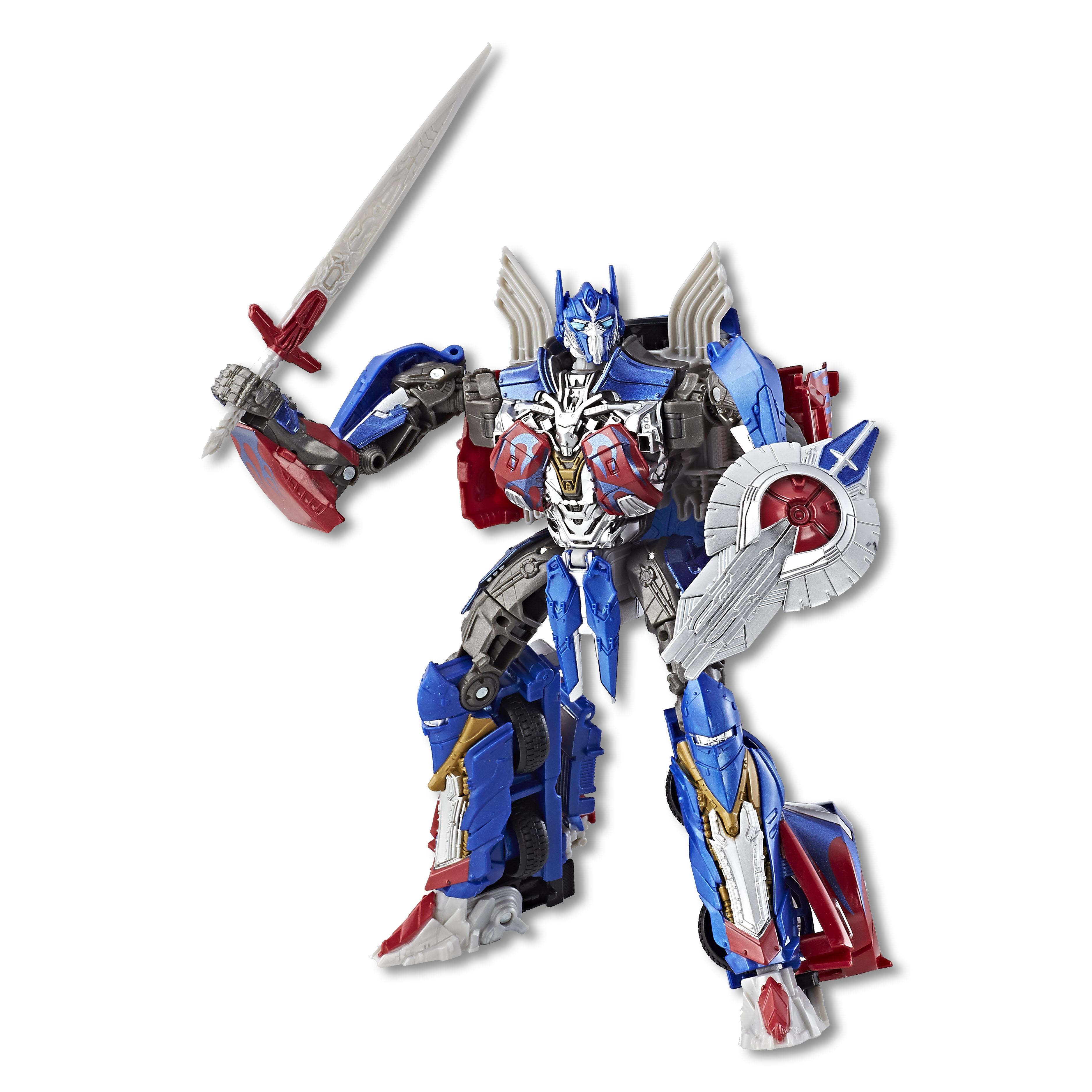 Silver Knight Optimus Prime