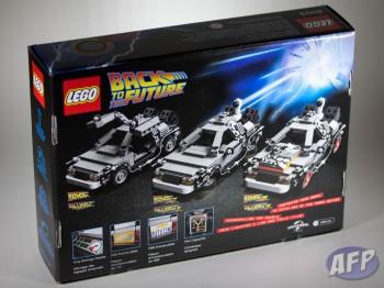 Lego Back To The Future Delorean Time Machine