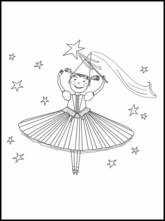 pinkalicious coloring pages # 3