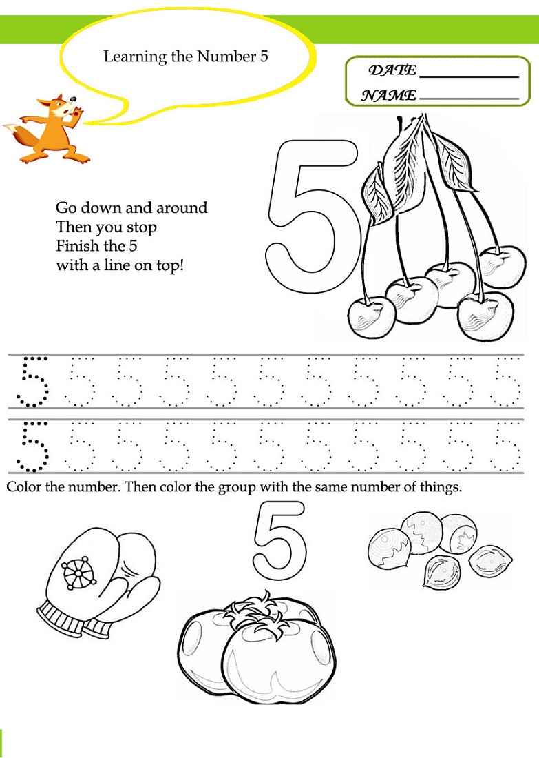 Tracing Worksheets Toddlers