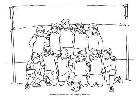 soccer coloring page # 65