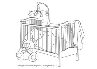 coloring pages of babies # 7
