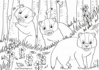 wildlife coloring pages # 14