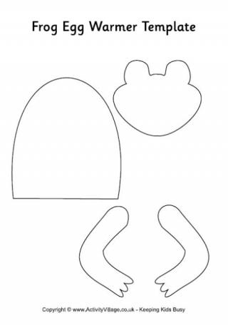 Frog Mask Template