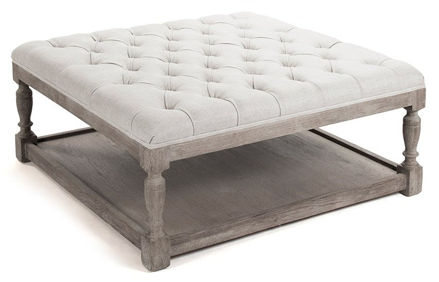 How Make Footstool Coffee Table