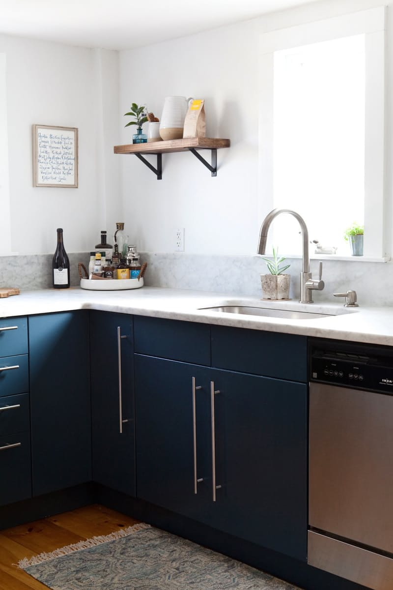 Best Kitchen Gallery: And The Kitchen Cabi Color Winner Is… of Benjamin Moore Gray Painted Kitchen Cabinets on rachelxblog.com