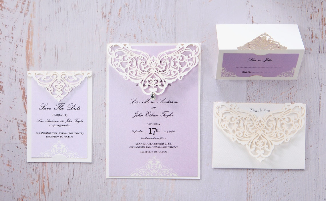 Unique Wedding Invitations Online