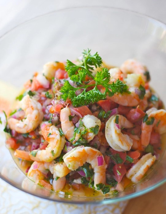Shrimp Ceviche #ABRecipes