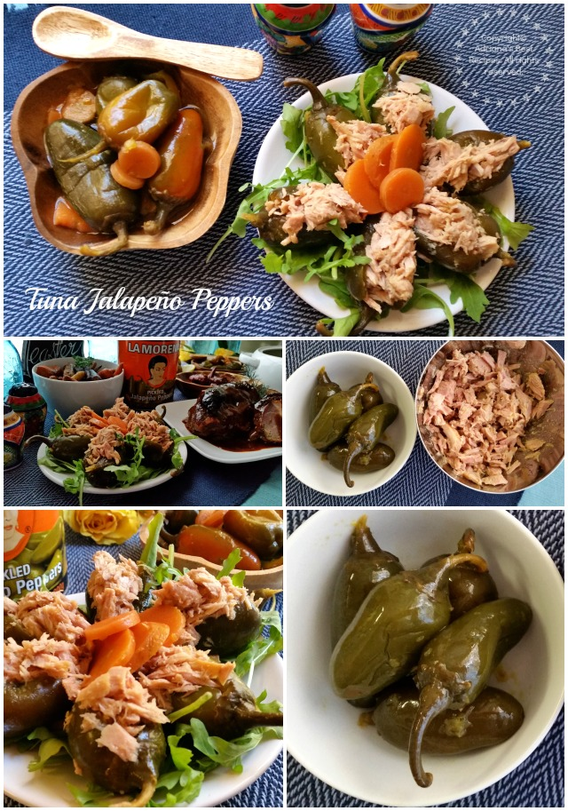 Tuna Jalapeño Peppers Appetizers for Holy Week Menu